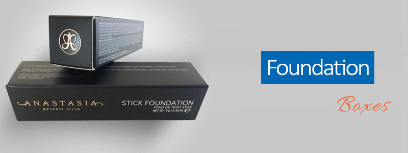 Custom Printed Foundation Boxes Wholesale